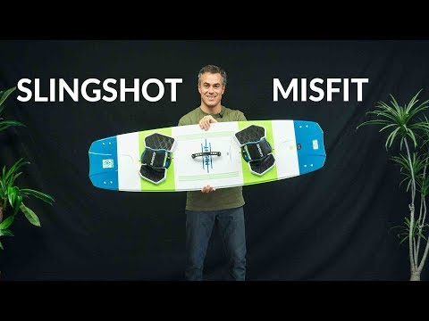 2018 Slingshot Misfit Kiteboard Review