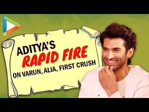"Aditya Roy Kapur: ""A RUMOUR I'd Like To Start About Varun Dhawan is…""  Rapid Fire   KALANK (видео)"