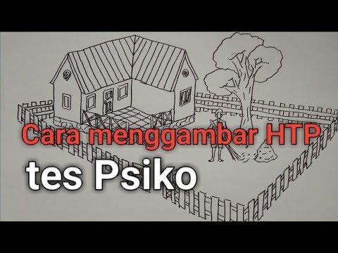 Cara Menggambar Rumah Pohon Dan Orang Htp Tes Psiko Tes Psiko