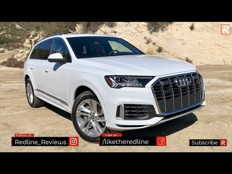 The 2020 Audi Q7 is Refreshed to Bring it Closer to its Bentley & Lamborghini Cousins
