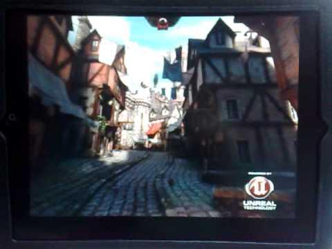 Unreal Engine 3 on iPad