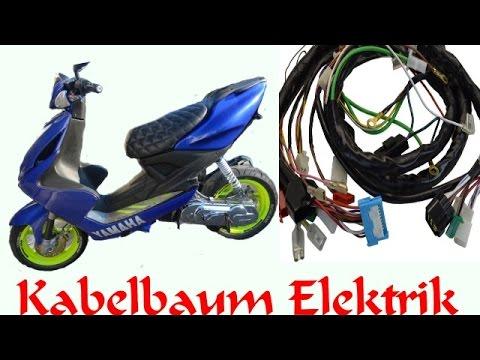 Yamaha Aerox Kabelbaum-Elektrik/WIE!! WO!! WAS!! kleiner Überblick
