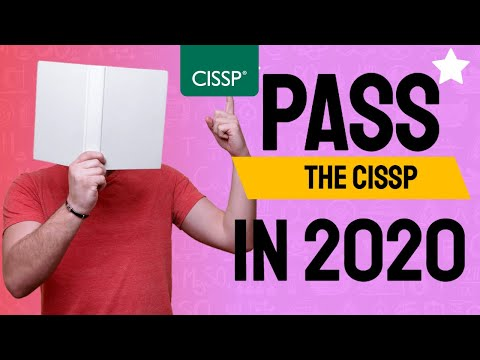 5 Tips to Pass The CISSP In 2020 On First Attempt - YouTube