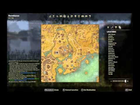 ESO Skyshard Locations - Treasure Map Locations and ... on the rift ce treasure map, khenarthi's roost treasure map, stormhaven ce treasure map, bleakrock treasure map, auridon treasure map,