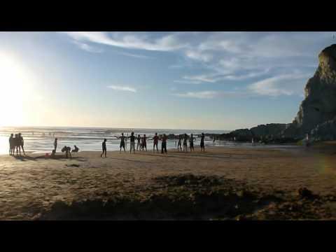 Tai chi en la playa de Sopelana