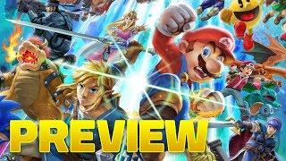Super Smash Bros. Ultimate Hands-On Preview - dooclip.me