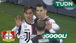 ¡Gol de CR7! La Juve se adelanta   Leverkusen 0 - 1 Juventus   Champions League  J6 - Grupo D   TUDN