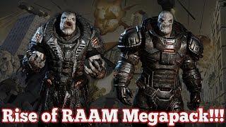 Gears of War 4 : Rise of RAAM Megapack!!!