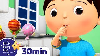 Johny Johny Yes Papa | Part 3 | And More Nursery Rhymes | Compilation by Little Baby Bum