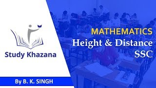 Height & Distance for SSC Maths | Study Khazana