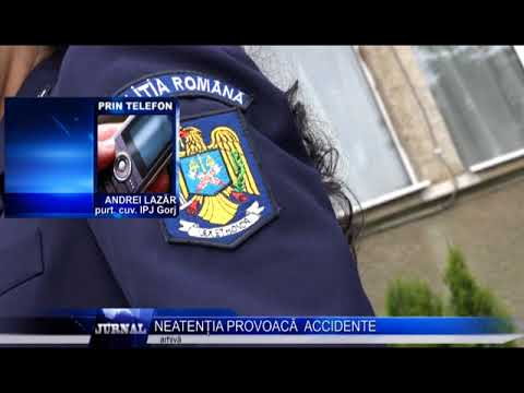 NEATENȚIA PROVOACĂ ACCIDENTE