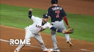 Runner Interference Is The Dumbest Rule In MLB | The Jim Rome Show