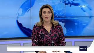 RTK3 Lajmet e orës 08:00 14.08.2020
