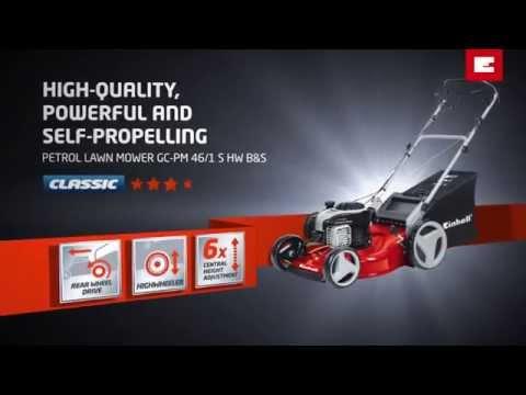 Einhell GC-PM 46/1 S HW B&S Petrol Lawn Mower