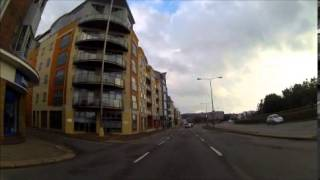 preview picture of video 'Motorbike Ride , St Helier, Jersey'