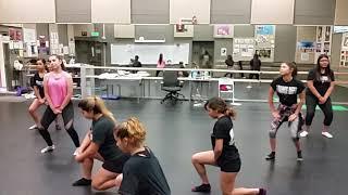 Ccdc's Roman's Revenge dance practice