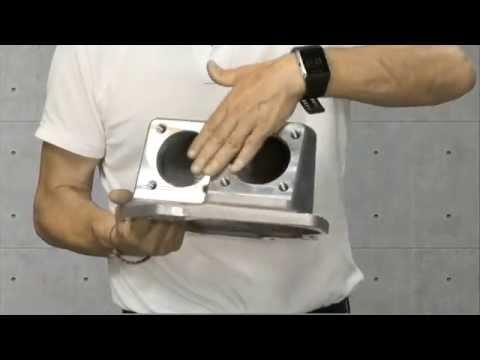 9.Pieza aluminio: emisor de gas para carros de combate