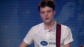 Carl Lilienberg - Blame It On Me av George Ezra (hela audition 2018) - Idol Sverige (TV4)