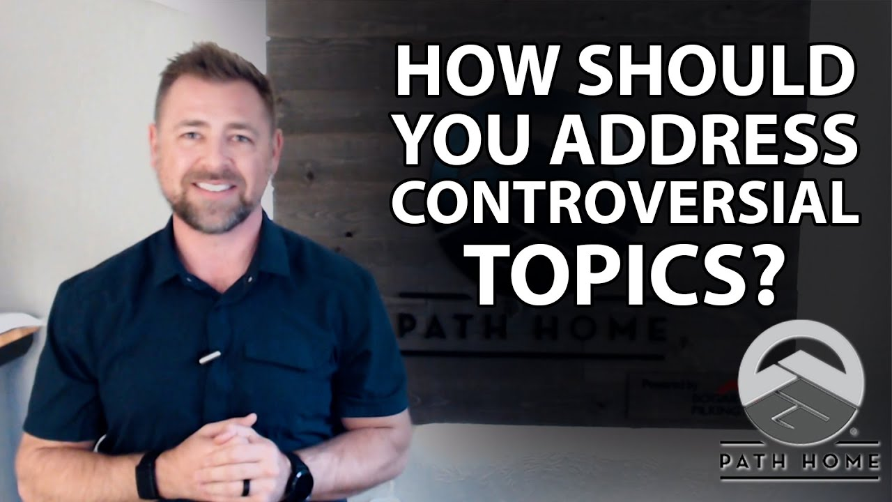 My Advice for Agents Regarding Controversial Topics