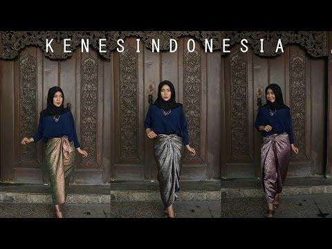 Video 3 Cara Mudah Memakai Kain Lilit / Batik by @kenes.id