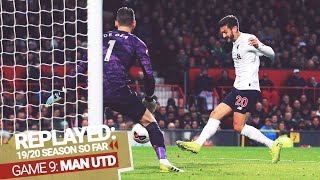 REPLAYED: Man Utd 1-1 Liverpool | Lallana levels late to keep the Reds unbeaten