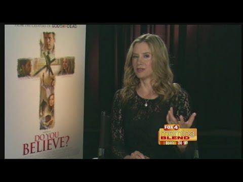 Mira Sorvino-Do you Believe? 03/19/2015
