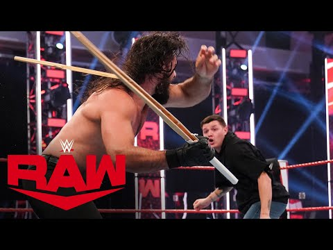 Dominik Mysterio fights off Seth Rollins & Murphy: Raw, Aug. 3, 2020