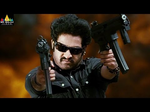 Shakti Movie Action Scenes Back to Back | Jr NTR, Jackie Shroff, Sonu Sood | Sri Balaji Video