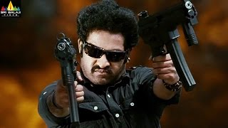 Shakti Movie Action Scenes Back To Back  Jr NTR Jackie Shroff Sonu Sood  Sri Balaji Video