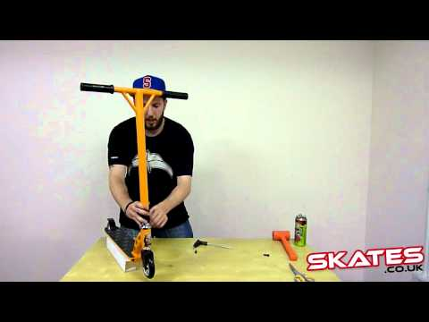 How To Assemble Your Threaded Scooter - Skates.co.uk