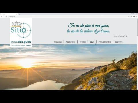 Le site web Sitio