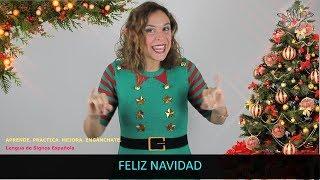 Navidad - Aprende LSE / Tutorial InfoSordos