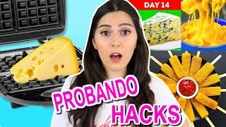 TESTING VIRAL FOOD TRICKS WITH CHEESE THAT WILL WILL CHANGE YOUR LIFE FOREVER! Caro Trippar