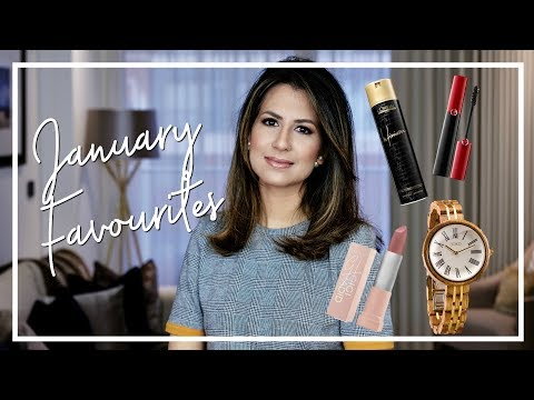 BEAUTY & FASHION JANUARY FAVOURITES | Monthly Favourites | JASMINA PURI