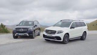 ОБЗОР и ТЕСТ ДРАЙВ  Mercedes GLS 2016