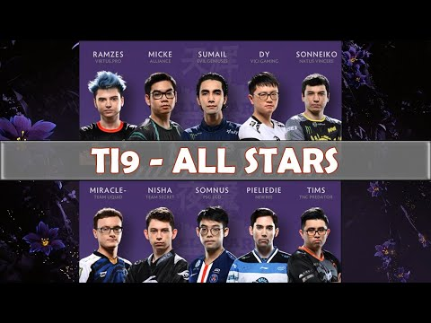 ALL STARS Match | The International 2019 | Dota 2 TI9 LIVE | Main Event Day 4