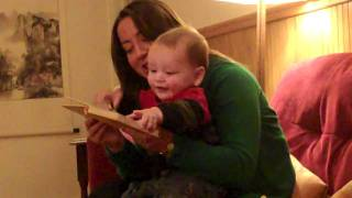 Baby Laughing At Humor Book