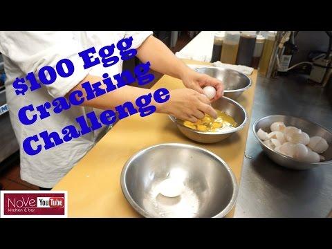 $100 Egg Cracking Challenge – See Description Box For Details