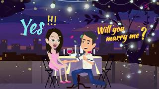 ✅ Wedding Caricature Video || Caricature Wedding Invitations || Caricature Cartoon Invitation