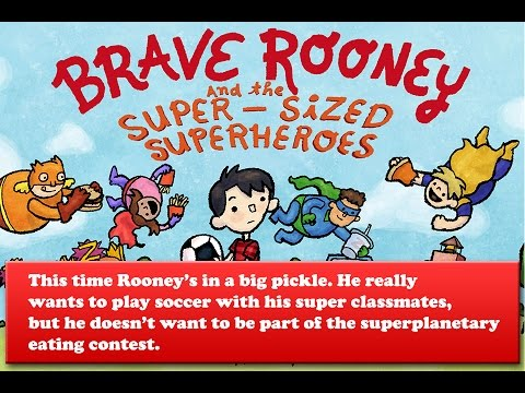 Brave Rooney Book Trailer