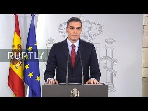 Spanien im Coronavirus Alarmzustand