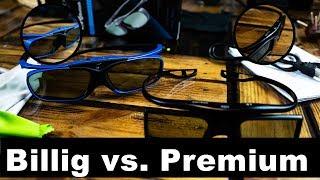 3D Brillen Vergleich - Billig vs. Premium - Sintron vs Hi-SHOCK Deep Heaven!