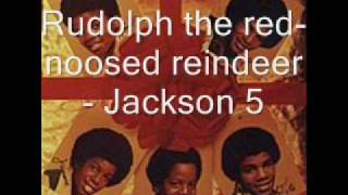 Rudolph the red-nosed reindeer - Jackson 5 [HQ]