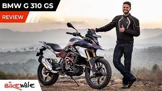 BMW G 310 GS BS6 Review | Is It Worthy Rival To KTM 390 Adventure | BikeWale