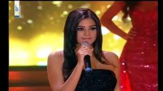 Jessica Mouawad Miss Lebanon 2014 Top 9 Finalist
