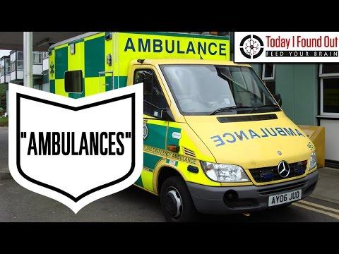 Why are Ambulances Called Ambulances?
