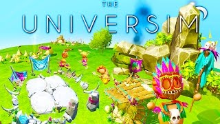 THE UNIVERSIM NEW PARAGON UPDATE! - New Buildings, Deadly Disease, Classes! - Alpha Gameplay
