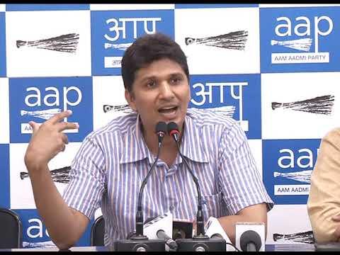 AAP Chief Spokesperson briefs on Clean Chit by CBI & Lokayukta to Delhi CM on frivolous allegations