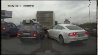 Подборка аварий с видеорегистратора