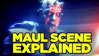 Solo Star Wars ENDING EXPLAINED (Secret Cameo Breakdown!) // Darth Maul Alive Explained